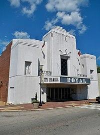 Hogansville, GA City Hall (Royal Theater).JPG