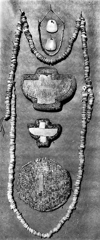 Hohokam - Hohokam turquoise mosaic jewelry