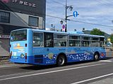 Hokumon bus Ki230A 0104rear.JPG