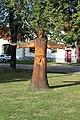Holašovice, dřevěná socha.jpg
