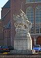 Hoogstraat 299, Eindhoven, Sint-Joris en de draak, Jacques de Bresser.jpg