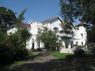 Sirimavo Bandaranaike - Horagolla Walawwa, the Bandaranaike ancestral manor
