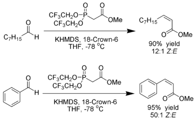 The Still modification of the Horner–Wadsworth–Emmons reaction