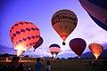 Hot air balloons at Luye, Taitung 20130813 02.jpg