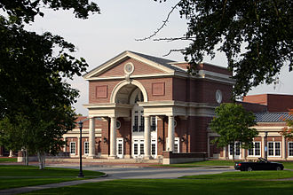 Hotchkiss School - Main Building, academic and social center of Hotchkiss.