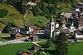 Hotel Les Melezes beside the church of Les Hauderes near Evolene - panoramio.jpg