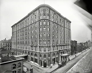 Seneca Hotel in Rochester, New York