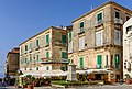 Houses and bust of Pasquale Galluppi - Tropea - Calabria - Italy - July 25th 2013 - 01.jpg