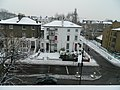 Houses on Camden Road, junction with Torriano Avenue in the snow, Camden, London 5 December 2011.jpg
