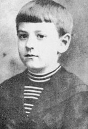 H. P. Lovecraft - Lovecraft c. nine years old