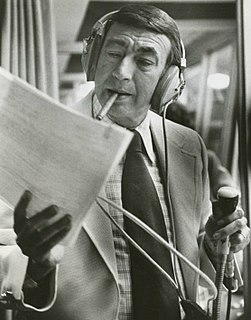 Howard Cosell American sportscaster
