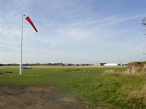 Hucknall Aerodrome - Image: Hucknall Airfield in 2005