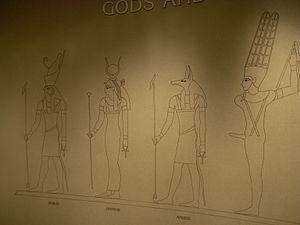 Polytheism - Egyptian gods in the Carnegie Museum of Natural History