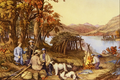 Hunting, Fishing and Forest Scenes - Currier and Ives.png
