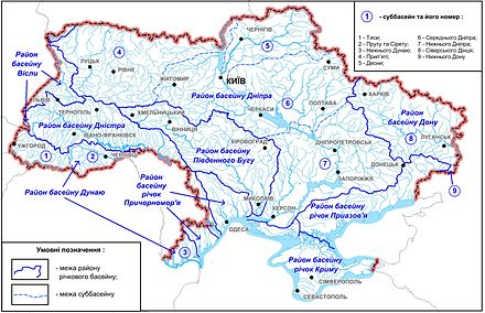 List Of Longest Rivers Of Ukraine Wikiwand - Rivers of world list