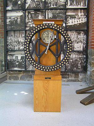 Time clock - IBM time clock