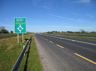 N52 road (Ireland) - N52 Mullingar By-Pass
