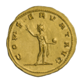 INC-1861-r Ауреус. Проб. Ок. 276—282 гг. (реверс).png