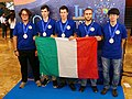IPhO-2019 07-14 team Italy medals.jpg