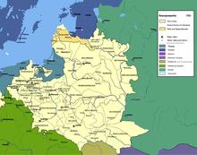 Polish–Lithuanian Commonwealth in 1701 (Source: Wikimedia)