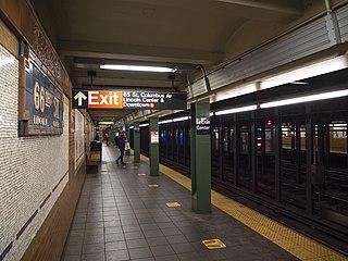 66th Street–Lincoln Center station New York City Subway station in Manhattan