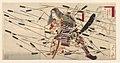 Ichikawa Danjuro IX als Kusunoki Masatsura bij de strijd van Shijonawate-Rijksmuseum RP-P-2007-364.jpeg
