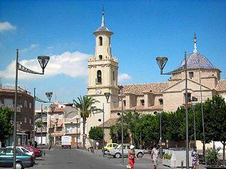 Fortuna, Murcia - Image: Iglesia de Fortuna