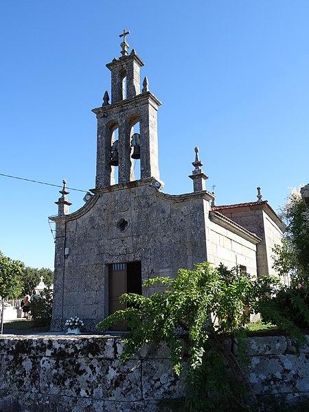 File igrexa san pedro de ribeira ba os de molgas ourense wikimedia commons - Banos de molgas ourense ...