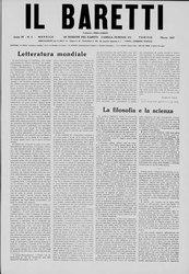 Piero Gobetti: Il Baretti - Anno IV, n. 3