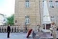 Ilham Aliyev visited the monument in honor of Azerbaijan Democratic Republic 6.jpg