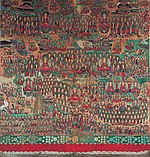 Illustration of the Avatamsaka Sutra at Songgwangsa temple in Suncheon, Korea 02.jpg