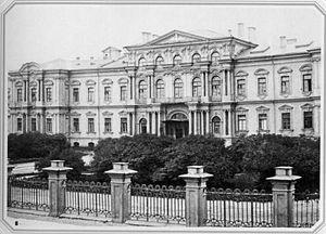 Suvorov Military School - Saint Petersburg Suvorov Military School occupies the 18th-century Vorontsov Palace on Sadovaya Street