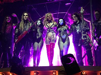 In This Moment - Image: In this Moment band, live 2014