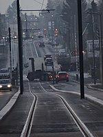 Inauguration de la branche vers Vieux-Condé de la ligne B du tramway de Valenciennes le 13 décembre 2013 (011).JPG