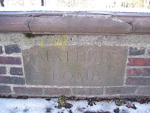 Cotton Mather - The Mather tomb in Copp's Hill Cemetery