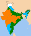 Indian states according to party of their chief minister 1.png