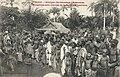 Indigènes aux abords de la gare d'Avrankou (Dahomey).jpg