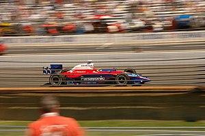 Kosuke Matsuura - Matsuura driving in the 2005 Indianapolis 500