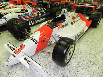 1991 Indianapolis 500 - Image: Indy 500winningcar 1991