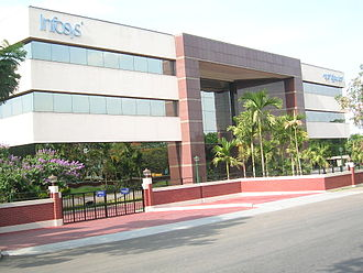 Infosys - Infosys headquarters in Electronic City.