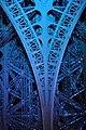 Inside blue Eiffel Tower (2745487492).jpg