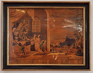 Marquetry - Marquetry picture, Germany 1776