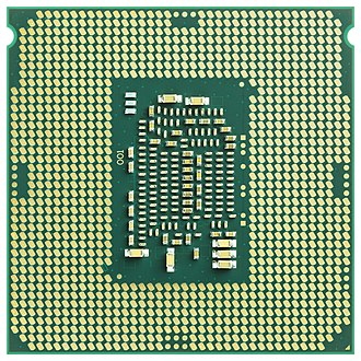 Intel Core - Bottom of an LGA1151 CPU