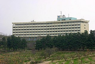 Five stars hotel located in Kabul, Afghanistan