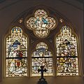 Interieur zuidbeuk, glas in loodraam - Maastricht - 20328501 - RCE.jpg