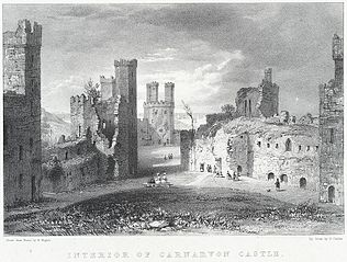 Interior Of Carnarvon Castle