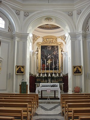 Church of Saint Catherine of Italy, Valletta - The interior of the church