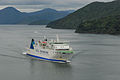 Interislander MEV Aratere prior to lengthening and Marlborough Sounds 20100122 1.jpg