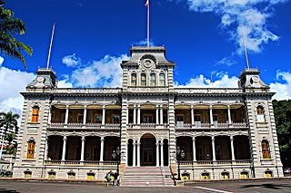 ʻIolani Palace United States historic place