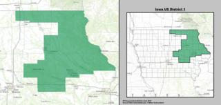 Iowas 1st congressional district